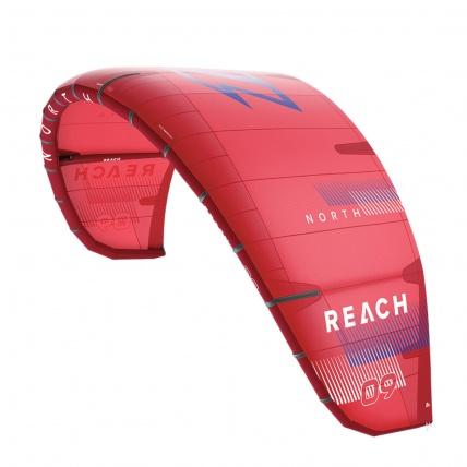 Reach Freeride Kitesurfing Kite 2021 Sunset Red