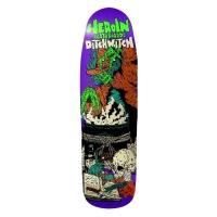Heroin Skateboards - Ditch Witch Razor top 9.3 Skateboard Deck