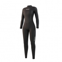 Mystic - Star Womens 3/2 Fullsuit Back Zip Black Wetsuit