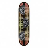 Santa Cruz - VX Transcend Dots Black 7.75 Skateboard Deck