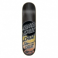 Santa Cruz - VX Transcend Black 8.0 Skateboard Deck