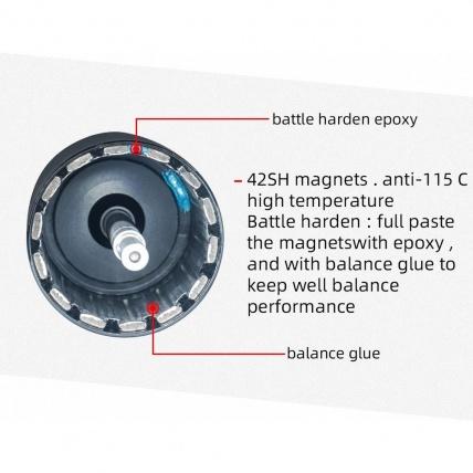 Flipsky 6374 Battle Hardened Electric Motor