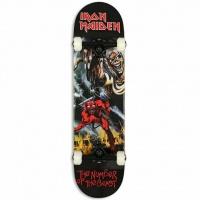 Zero Skateboards - Number of the Beast Iron Maiden Complete Skateboard Deck