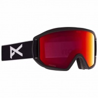 Anon - Relapse Black Perceive Sunny Red Snow Goggles