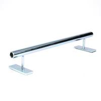 Blackriver - Fingerboard Rail Pipe Low Silver
