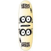 Heroin Skateboards - Symmetrical Egg 9.0n Skateboard Deck