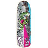 Heroin Skateboards - Craig Questions Behemoth 9.6 Skateboard Deck