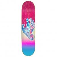 Santa Cruz - Iridescent Hand 7.75in Skateboard Deck