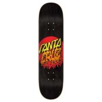 Santa Cruz - Rad Dot Black 8.0 Skateboard Deck