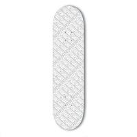 Fracture - Comic White 8.0 Skateboard deck