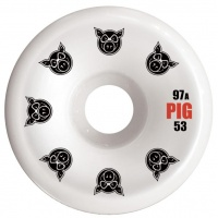Pig Wheels - Multi PG C-Line 53m 97a Skateboard Wheels