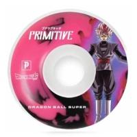 Primitive - RS Goku Black Rose Pink 54mm Skateboard Wheels