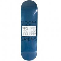 Doom Sayers Skateboards - Snake Shake Blue 8.5 Deck