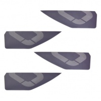 Ozone - Kitesurf Board Fins Pack of 4