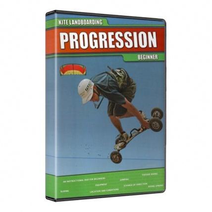 Fat Sand Progression Kite Landboarding Beginner Dvd
