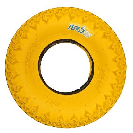 MBS Yellow T3 Tyres