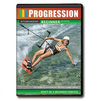 Fat Sand - Progression Kiteboarding Beginner Dvd 2nd