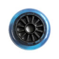 Yak - 100mm x 85a Blue and Black Wheel