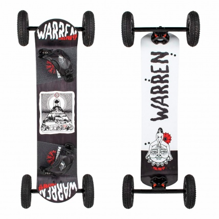 MBS Pro 97 DW 2 Dylan Warren Mountainboard Base and Top