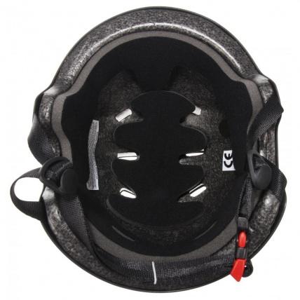 inside the bullet helmet