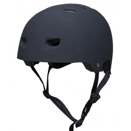bullet skate helmet matt black