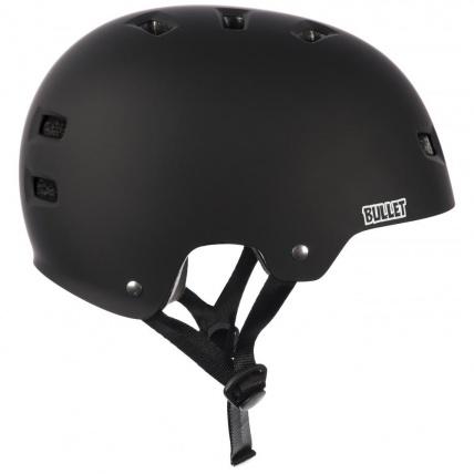 bullet helmet for skateboarding matt black