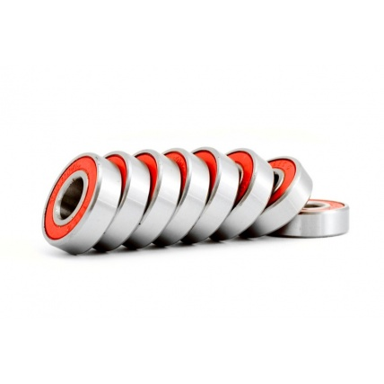 Trampa Abec 5 Red Channel Bearings