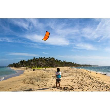 ozone uno kite lesson for kitesurfing