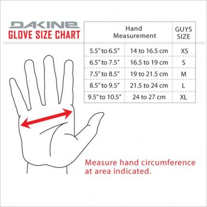 Dakine Blazer Black Gloves