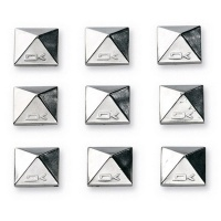 Dakine - Pyramid Studs Chrome