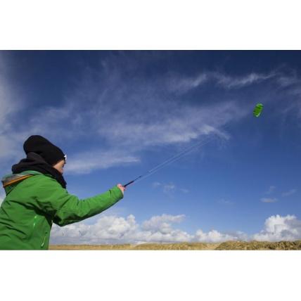 Peter Lynn Hype Green Kite Flying