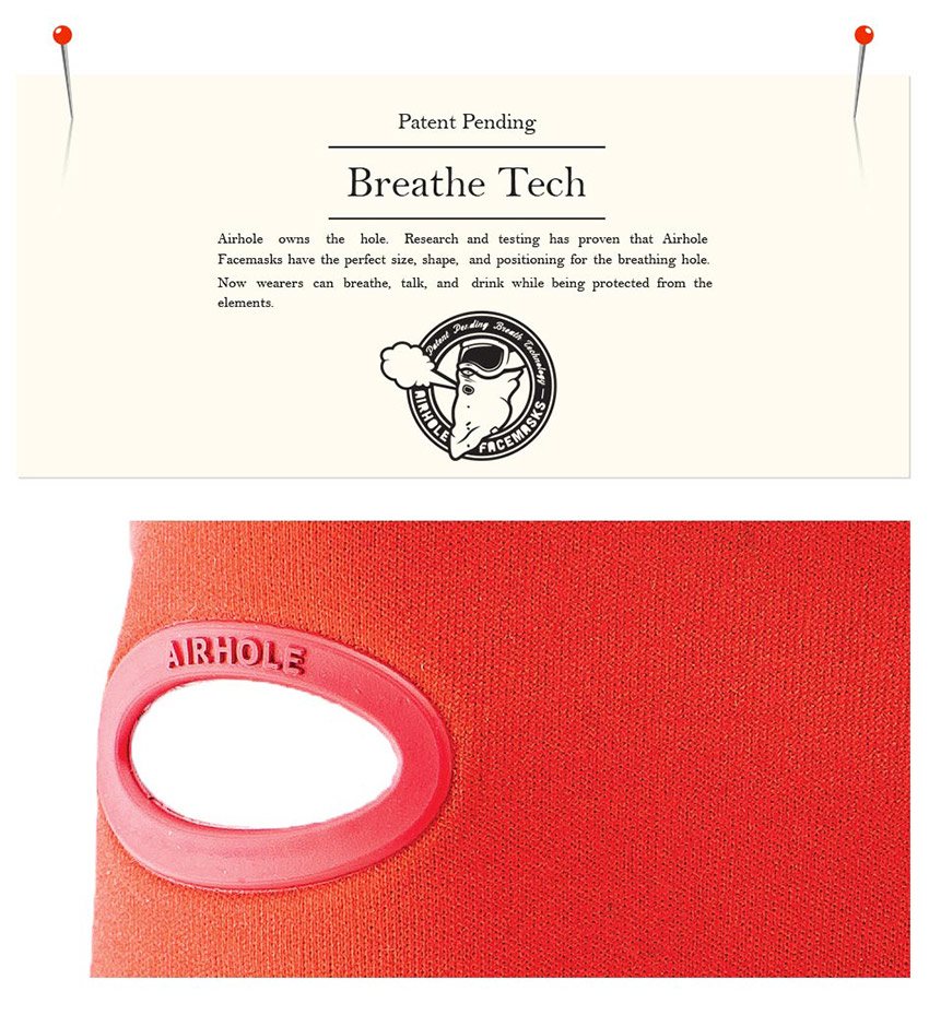 airhole breath tech facemasks
