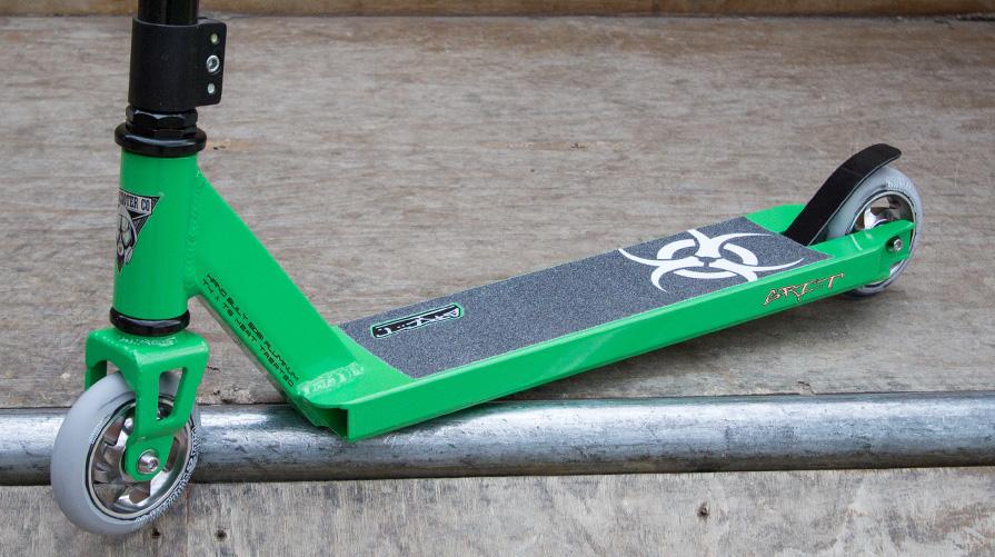 green grit fluxx stunt scooter on sale. Black Bedroom Furniture Sets. Home Design Ideas