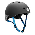 Six Six One - Dirt Lid Grey and Blue Helmet