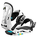 Drake - Fifty White Snowboard Bindings 2012
