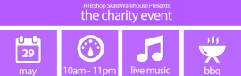 ATBShop Skate Warehouse Charity Event May