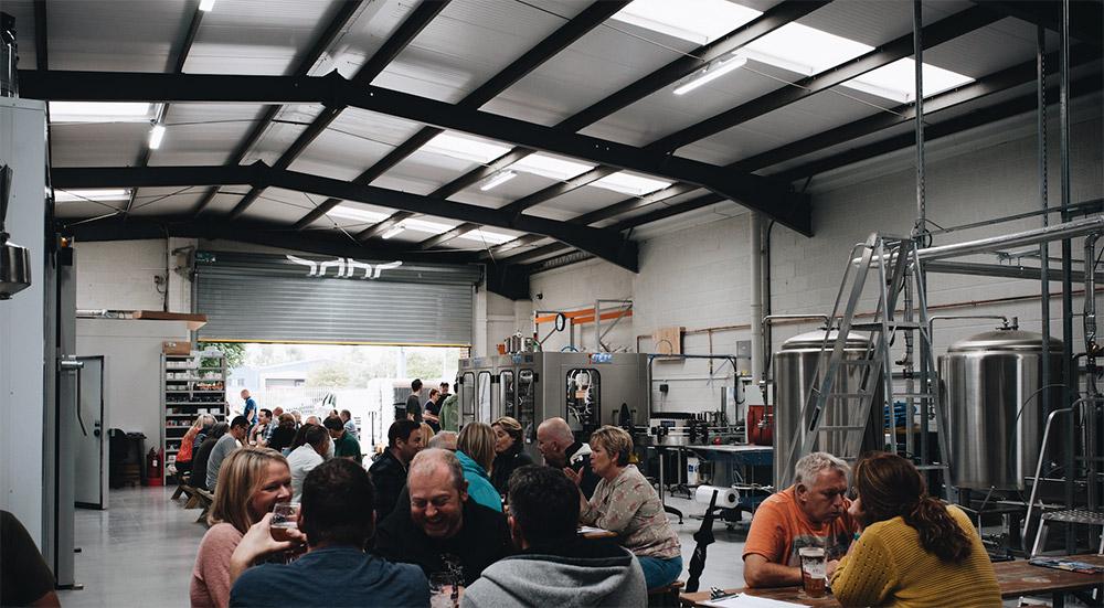 hop kettle brewery at ATBShop skatewarehouse 18th birthday