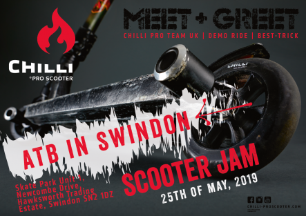 Chill scooter Banner