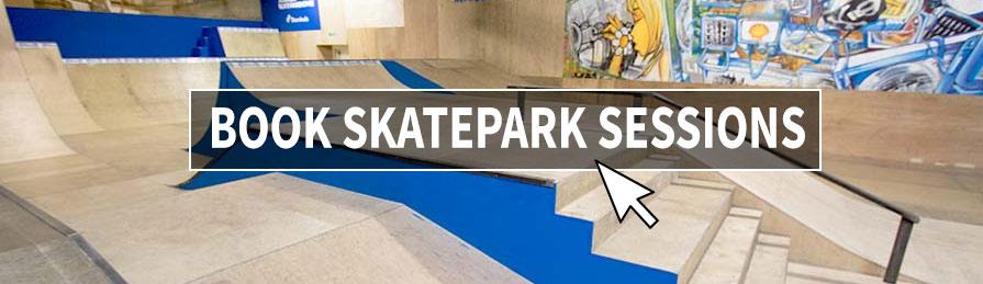 Book Skatepark Sessions